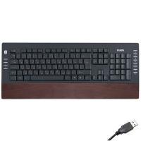 -#-Клавиатура SVEN 4200 Comfort Wooden