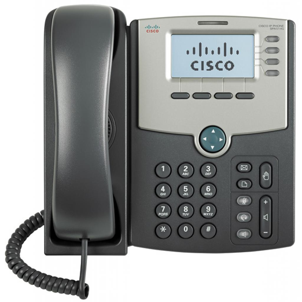 IP телефон Cisco SPA514G изображение 2