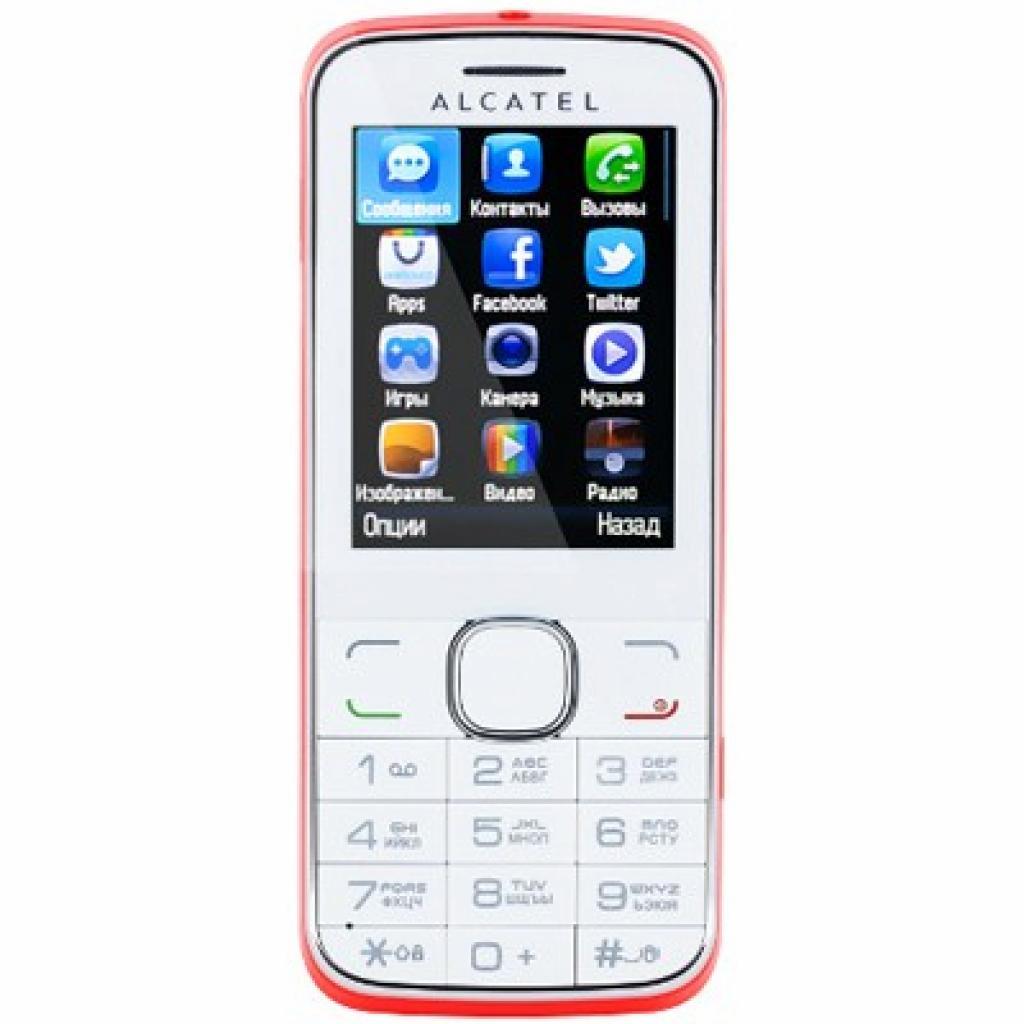 Мобильный телефон ALCATEL ONETOUCH OT-2005D Coralline (2005D-2GALUA1)