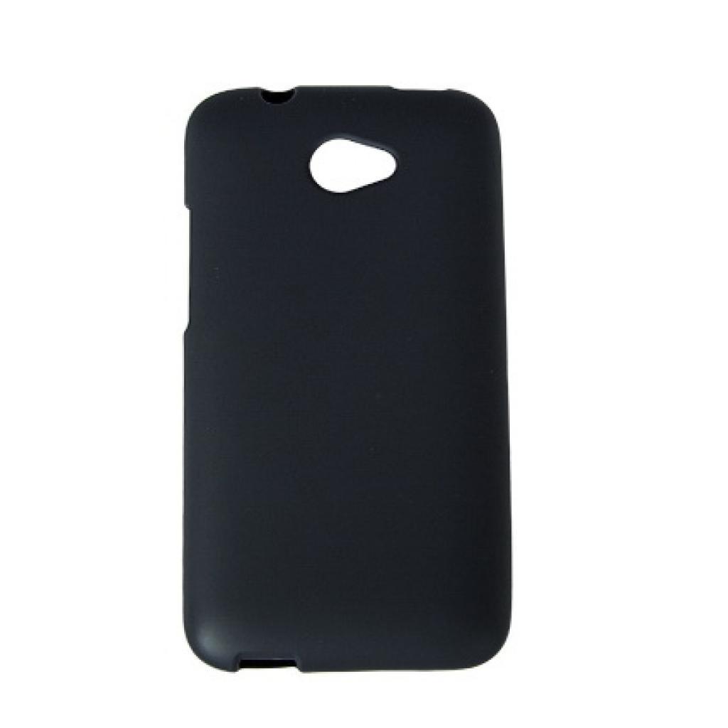 Чехол для моб. телефона Drobak для HTC Desire 601 /Elastic PU/Black (218846)