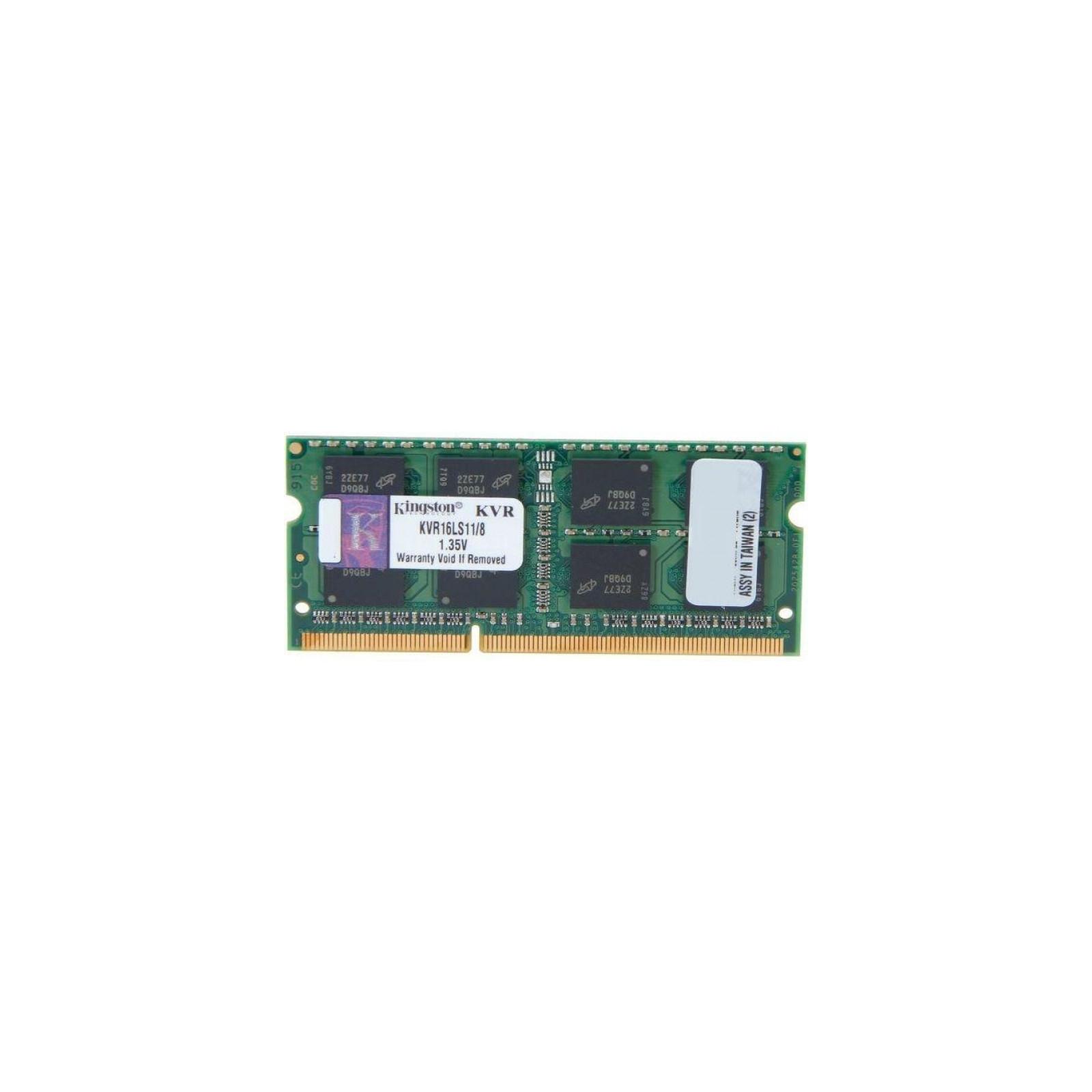 Модуль памяти для ноутбука SoDIMM DDR3 8GB 1600 MHz Kingston (KVR16LS11/8)