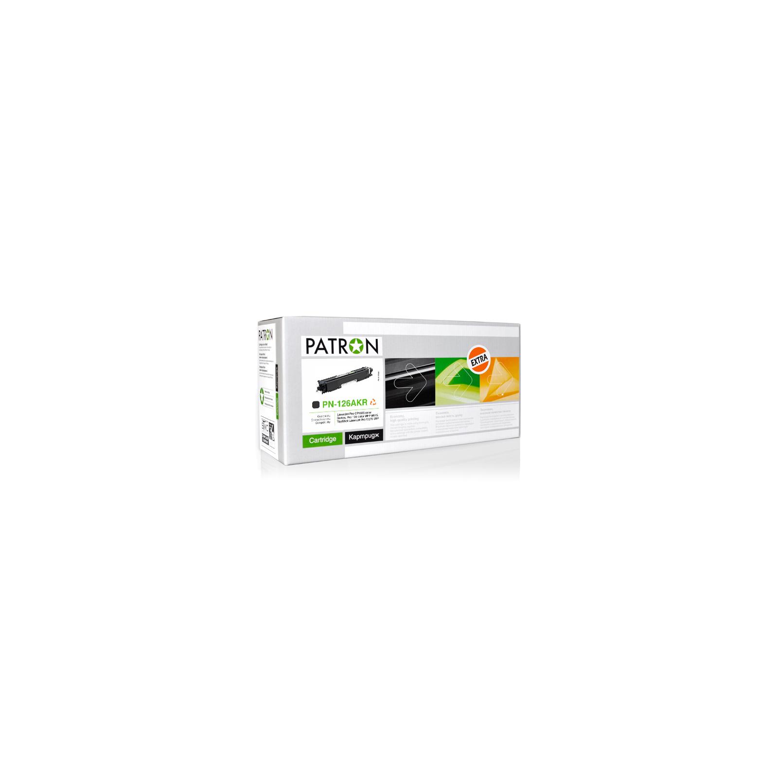 Картридж PATRON HP CLJ P1025/ CE310A (PN-126AKR) BLACK Extra (CT-HP-CE310A-B-PN-R)