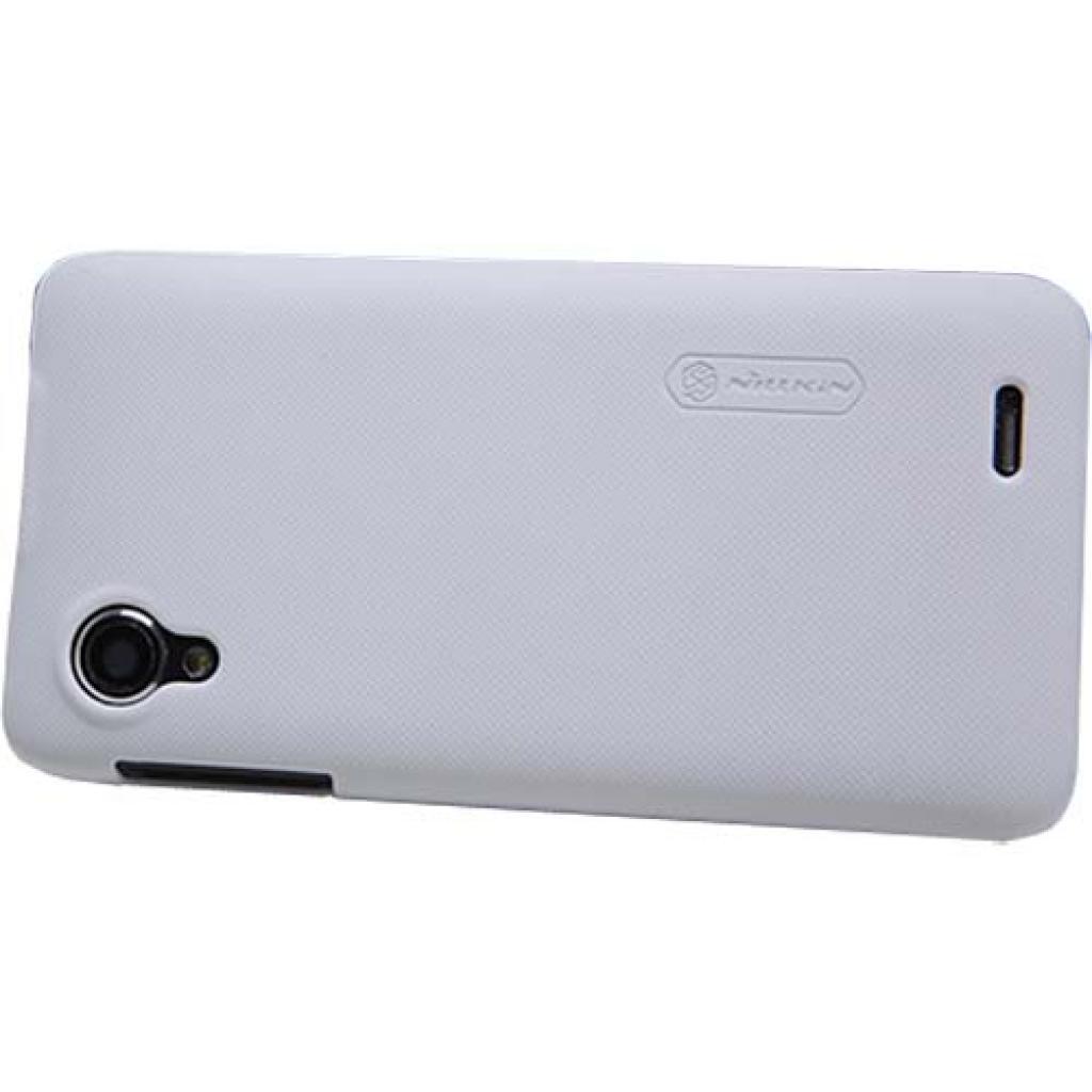 Чехол для моб. телефона NILLKIN для Lenovo P770 /Super Frosted Shield/White (6100804) изображение 2