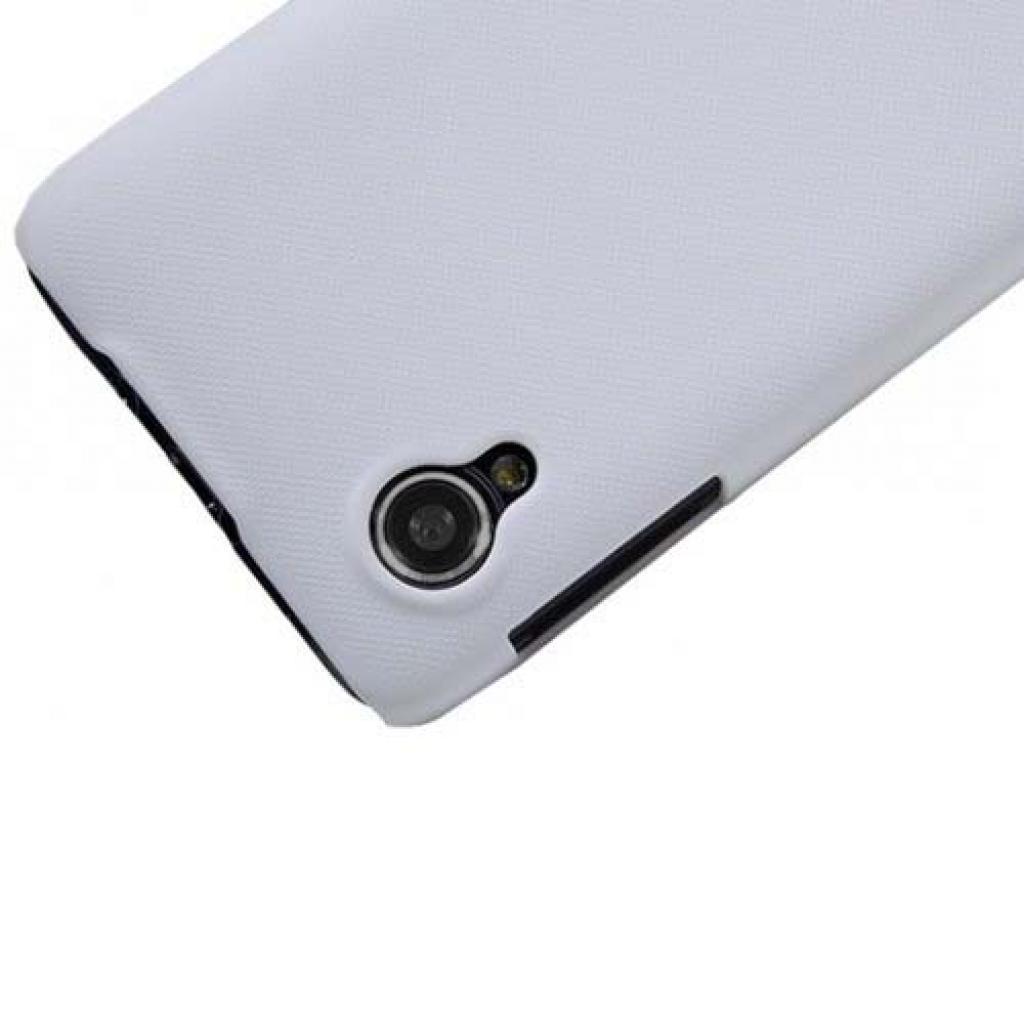 Чехол для моб. телефона NILLKIN для Lenovo P770 /Super Frosted Shield/White (6100804) изображение 3
