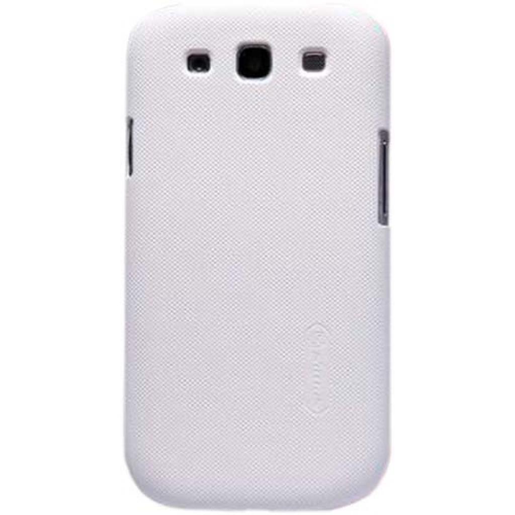 Чехол для моб. телефона NILLKIN для Samsung I9300 /Super Frosted Shield/White (6065881)