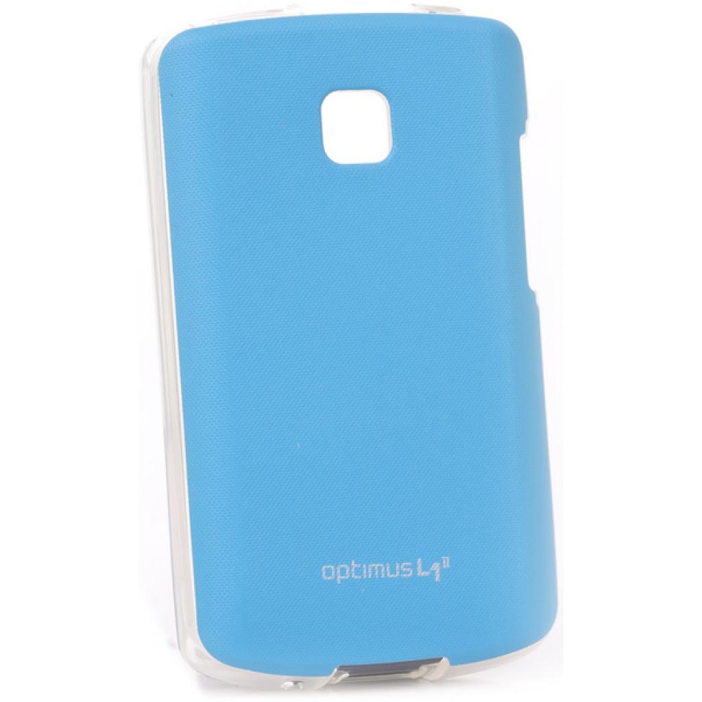 Чехол для моб. телефона VOIA для LG E410 Optimus L1II /Jell skin/Blue (6093512)