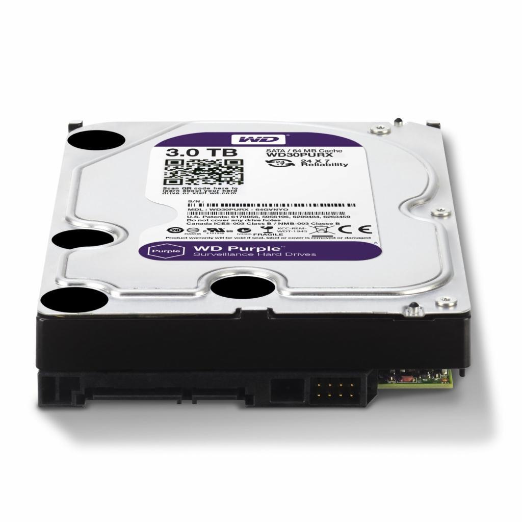 """Жесткий диск 3.5"""" 3TB Western Digital (WD30PURX) изображение 2"""