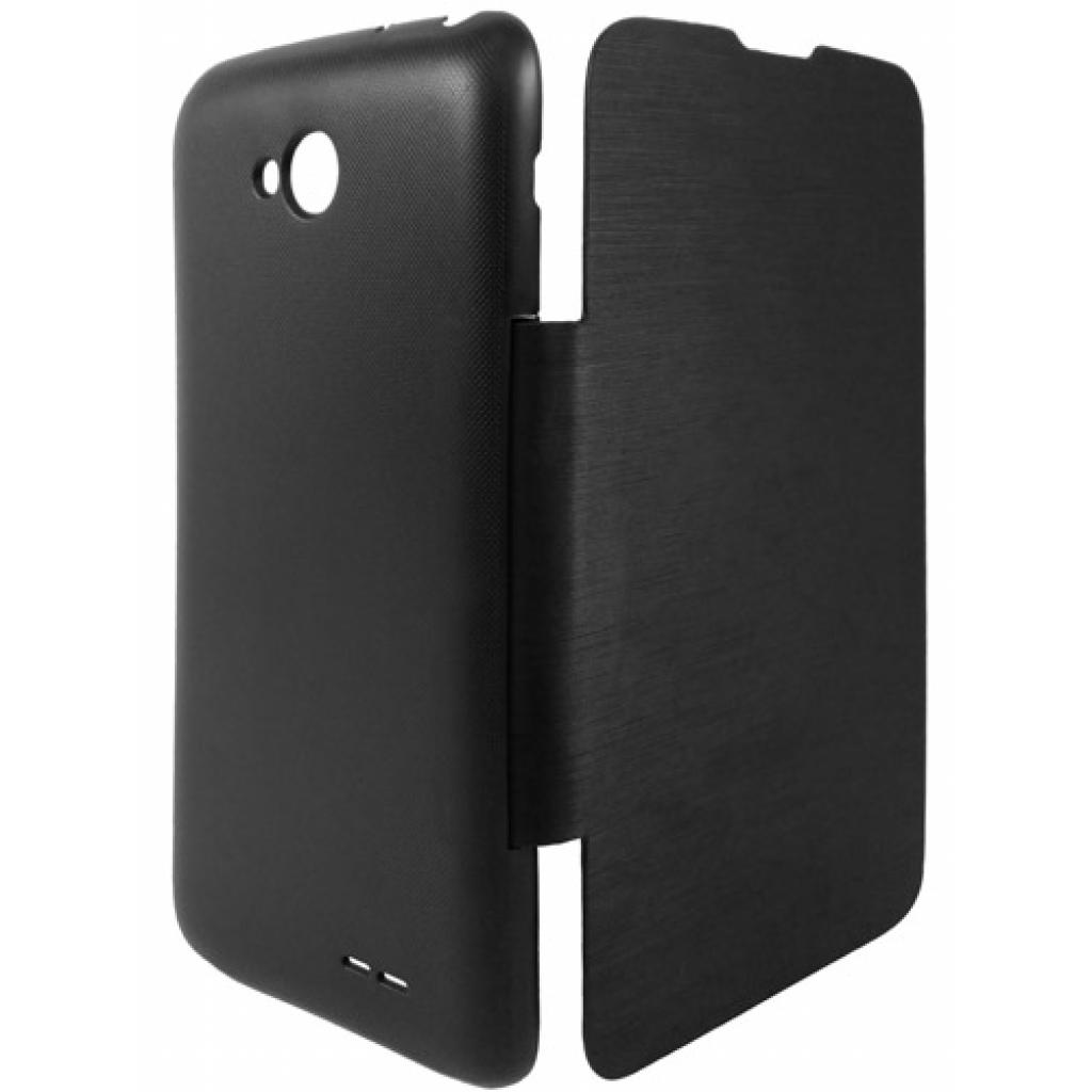 Чехол для моб. телефона GLOBAL для LG D320 L70 (PU, черный) (1283126459856) изображение 2