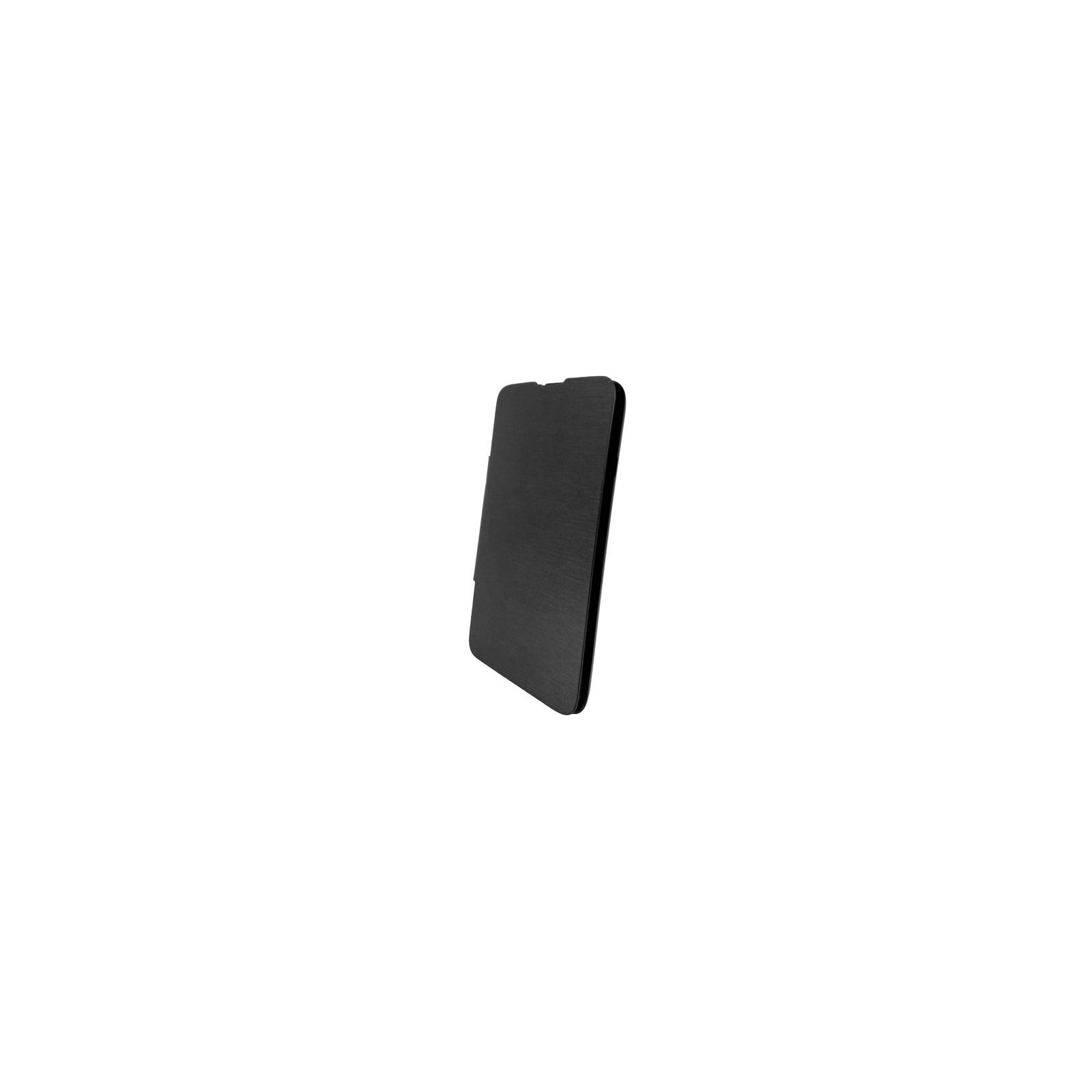 Чехол для моб. телефона GLOBAL для LG D320 L70 (PU, черный) (1283126459856)