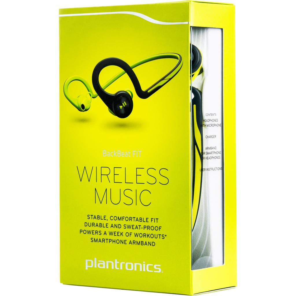 Наушники Plantronics BackBeat FIT green (200460-05) изображение 8