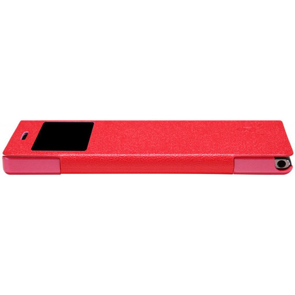 Чехол для моб. телефона NILLKIN для Huawei Ascend P6 /Fresh/ Leather/Red (6065687) изображение 3