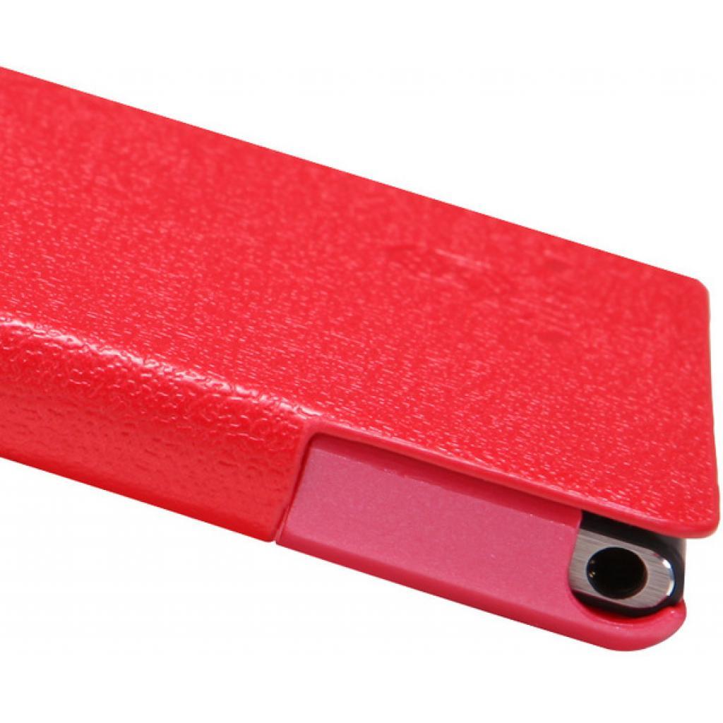 Чехол для моб. телефона NILLKIN для Huawei Ascend P6 /Fresh/ Leather/Red (6065687) изображение 5