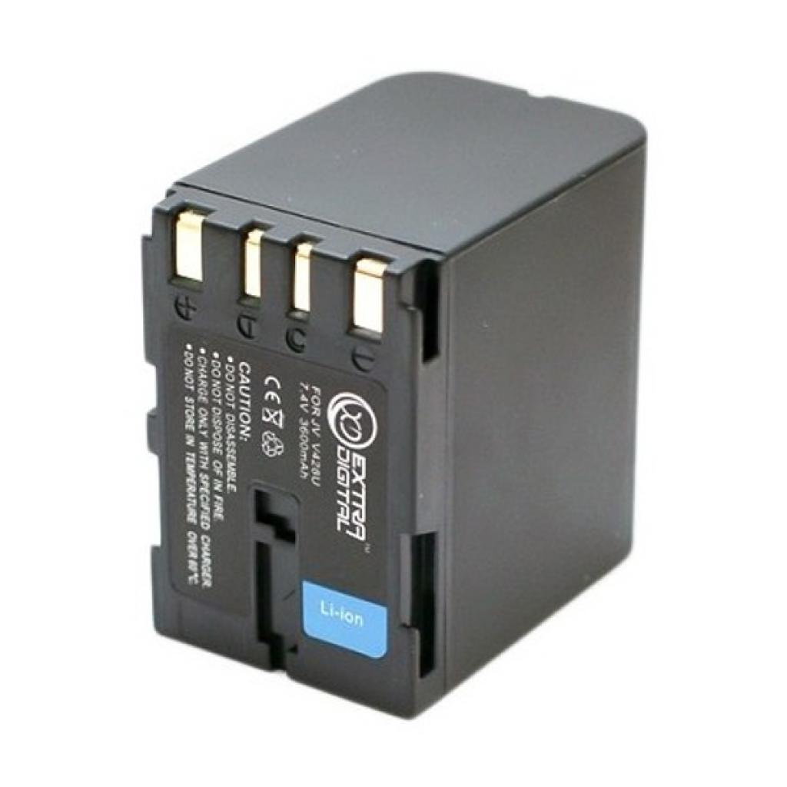 Аккумулятор к фото/видео EXTRADIGITAL JVC BN-V428 (DV00DV1086) изображение 2
