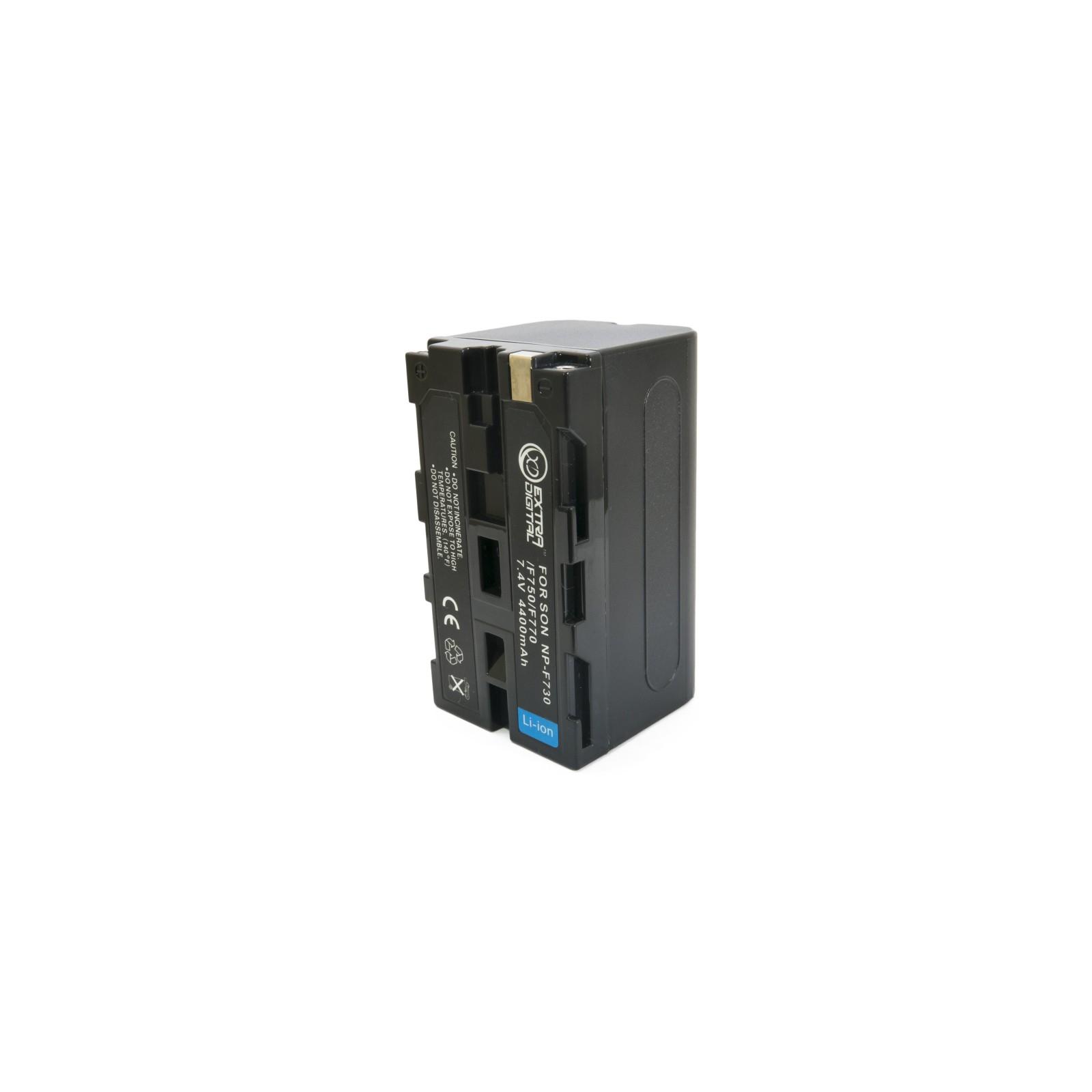 Аккумулятор к фото/видео EXTRADIGITAL Sony NP-F730 (BDS2650) изображение 4