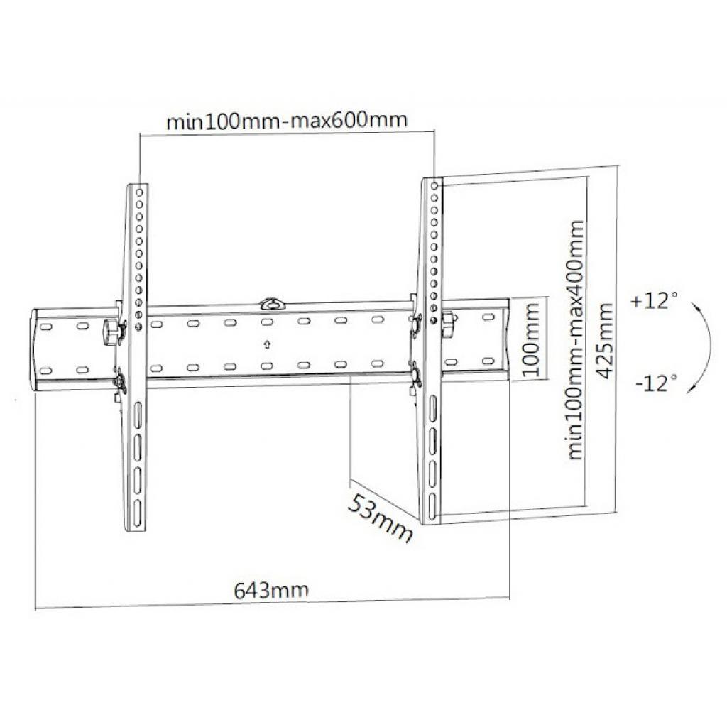 Кронштейн BRATECK KL21G-46T изображение 2
