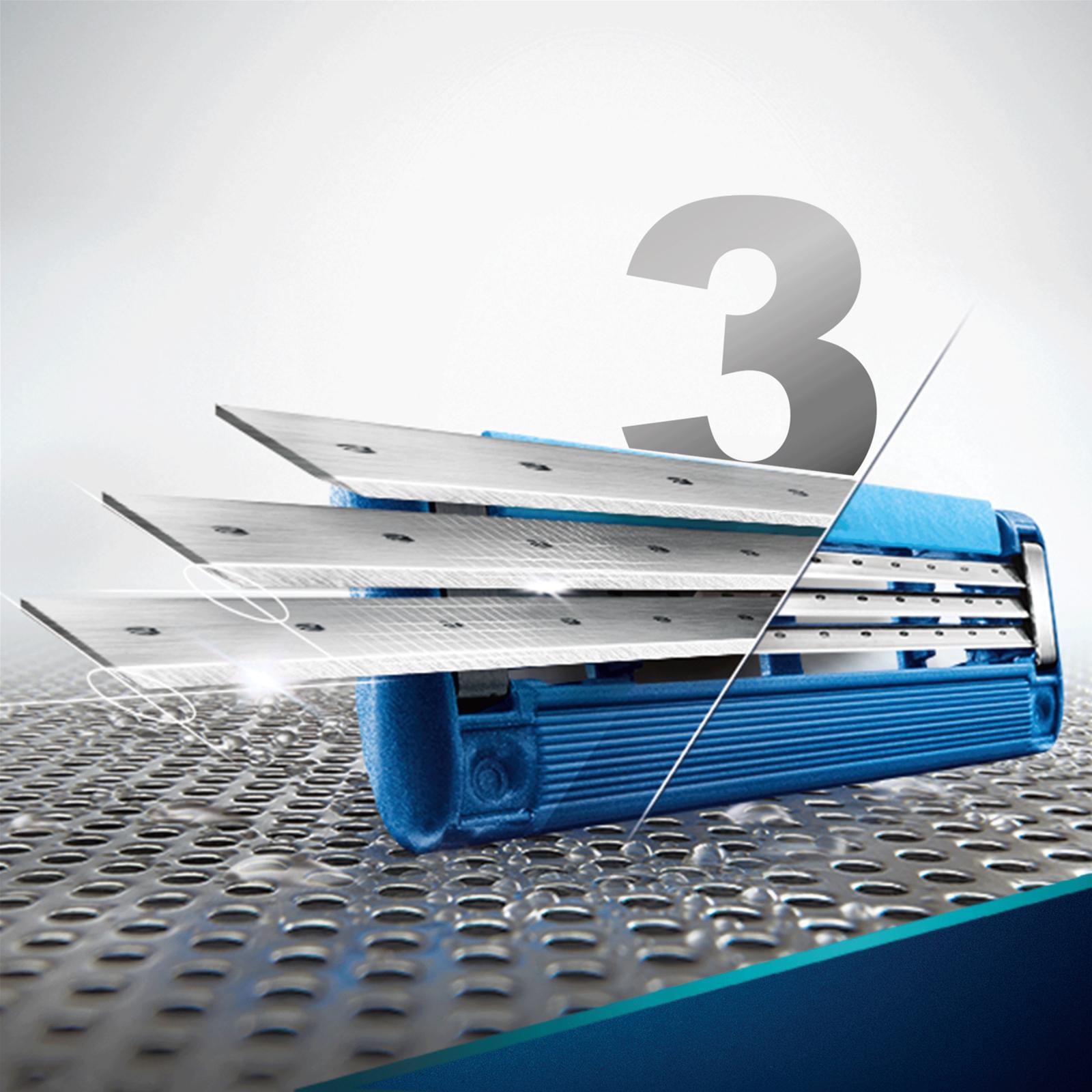 Сменные кассеты Gillette Mach 3 Turbo 4 шт (3014260331306) изображение 2
