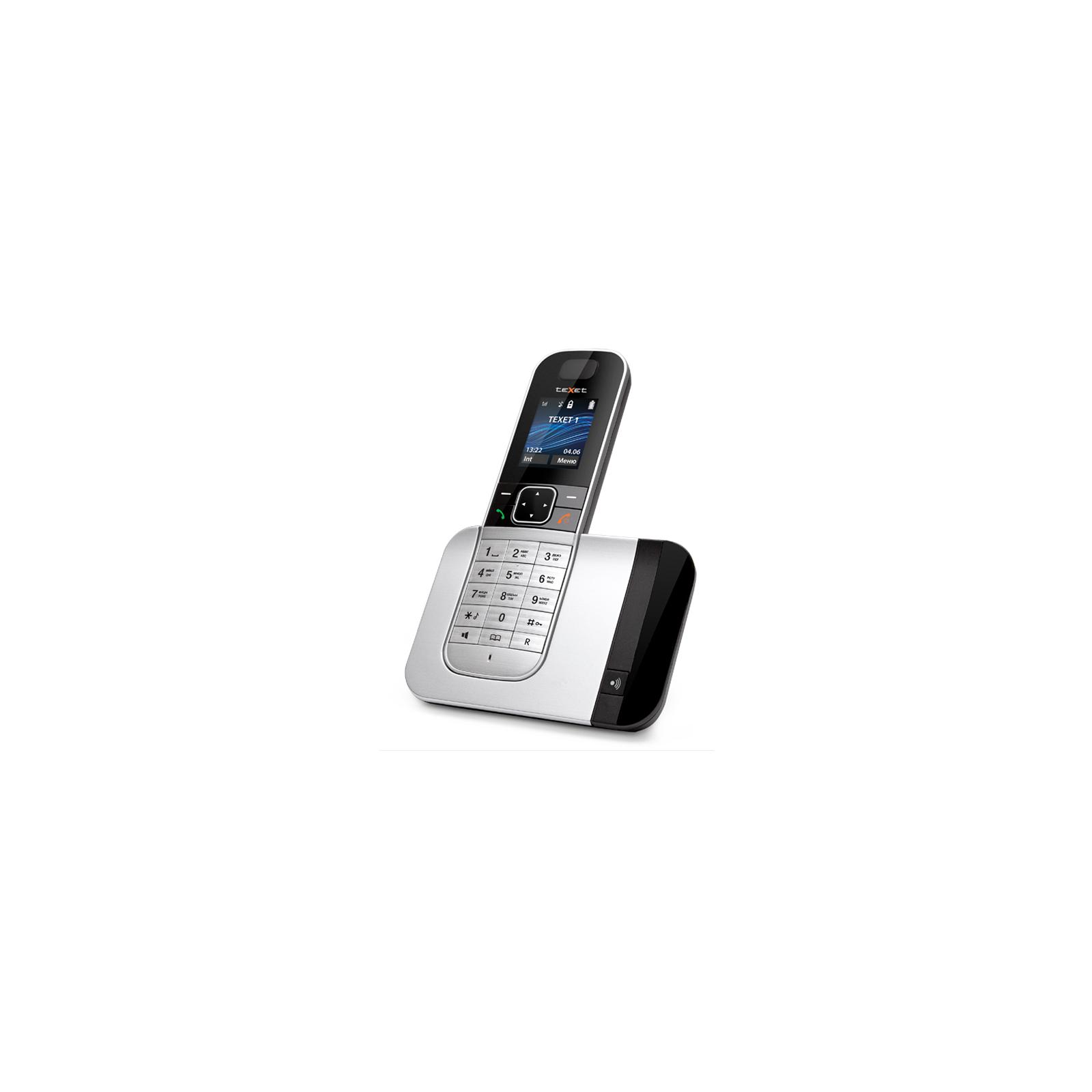 Телефон DECT TEXET TX-D7605A Black-Silver (TX-D7605A) изображение 2