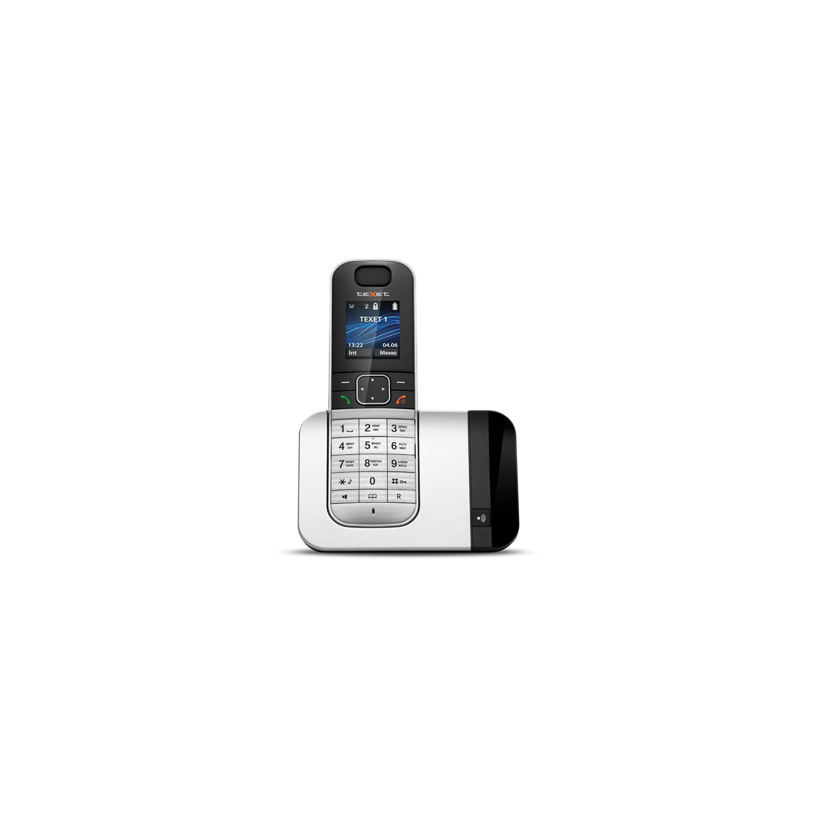 Телефон DECT TEXET TX-D7605A Black-Silver (TX-D7605A)