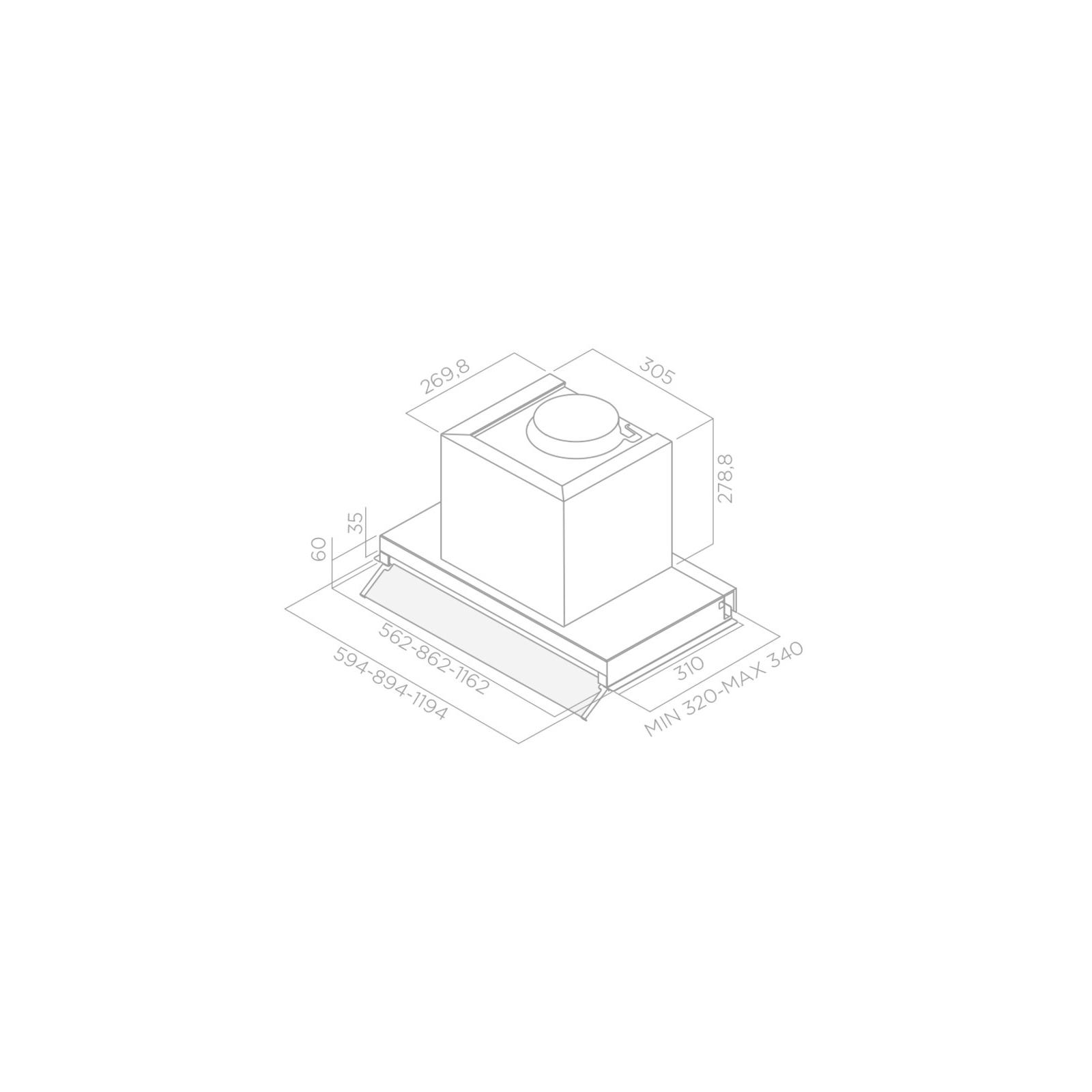 Вытяжка кухонная Elica BOX IN PLUS IXGL/A/60 изображение 2