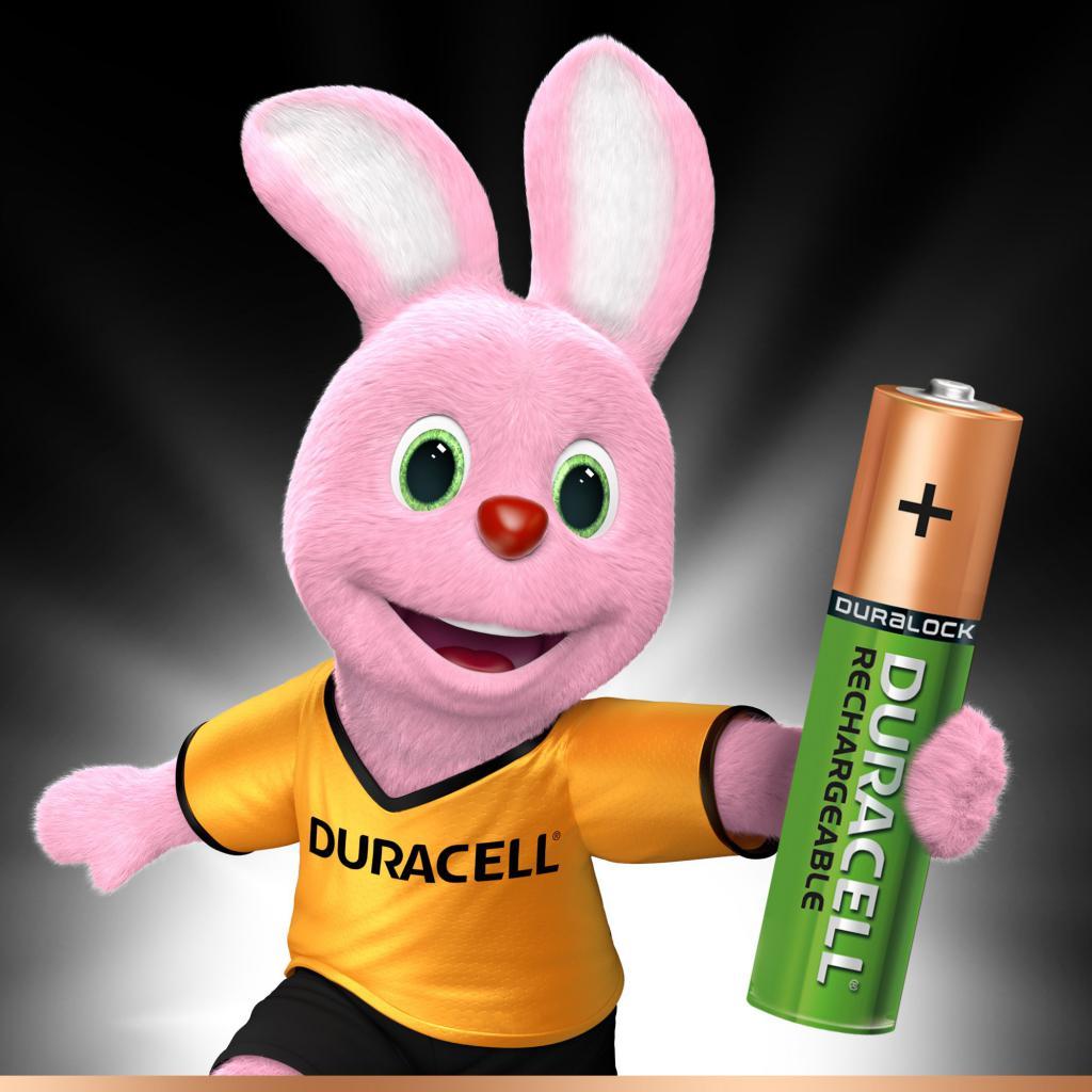 Аккумулятор Duracell AAA HR03 850mAh * 2 (81472325) изображение 2