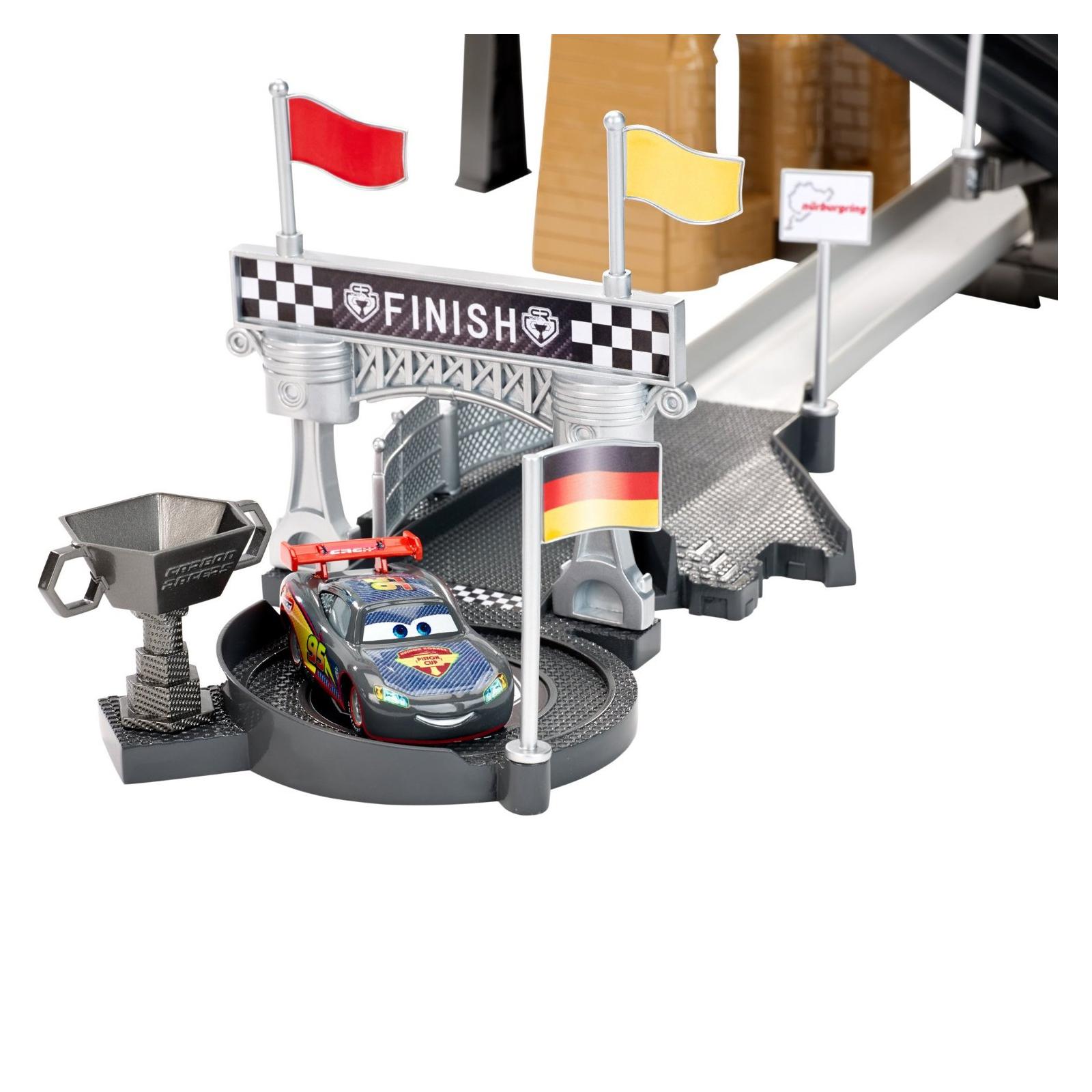 Автотрек Hot Wheels Состязания гонщиков серии Carbon Racers (DHN32) изображение 8