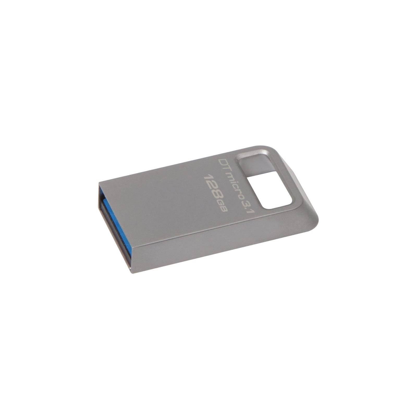 USB флеш накопитель Kingston 128GB DT Micro 3.1 USB 3.1 (DTMC3/128GB) изображение 2