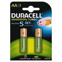 Аккумулятор Duracell AA HR6 2500mAh * 2 (81546830)