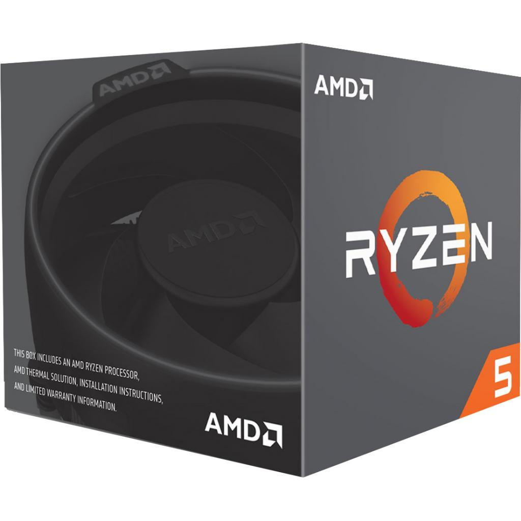 Процесор AMD Ryzen 5 1400 (YD1400BBAEBOX) зображення 2