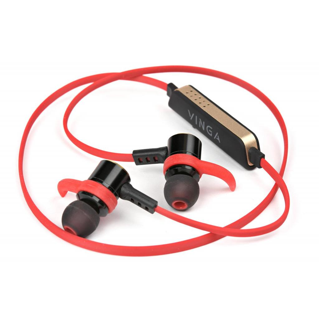 Навушники Vinga EBT050 Bluetooth Red (EBT050RD) зображення 8