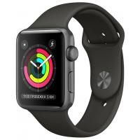 Смарт-часы Apple Watch Series 3 GPS, 38mm Space Grey Aluminium Case (MR352FS/A)