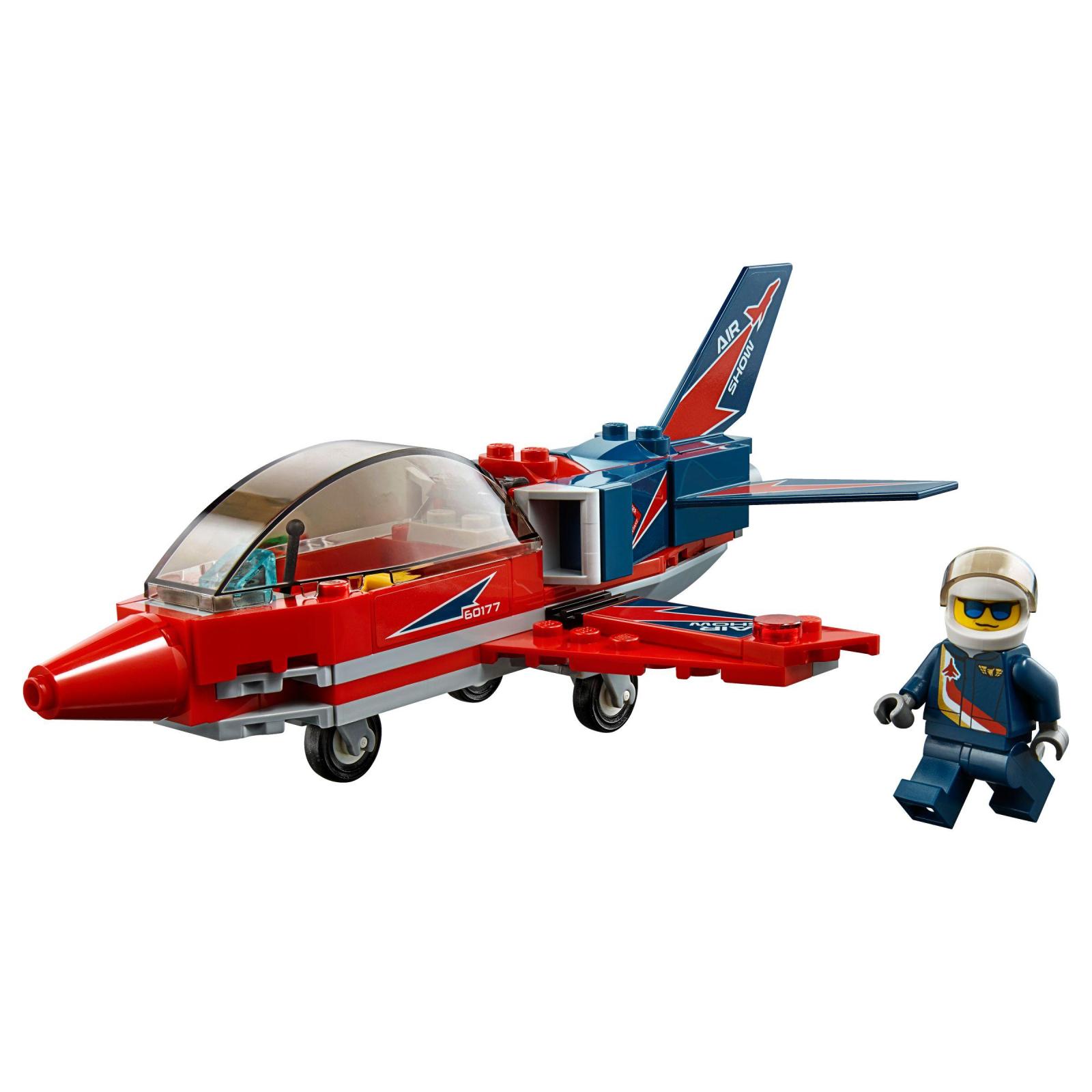 Конструктор LEGO City Airport Самолет на аэрошоу (60177) изображение 2