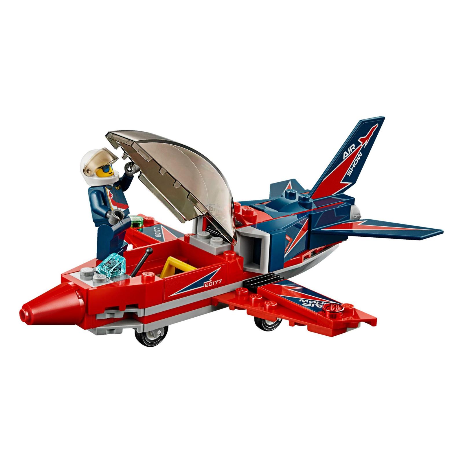 Конструктор LEGO City Airport Самолет на аэрошоу (60177) изображение 4