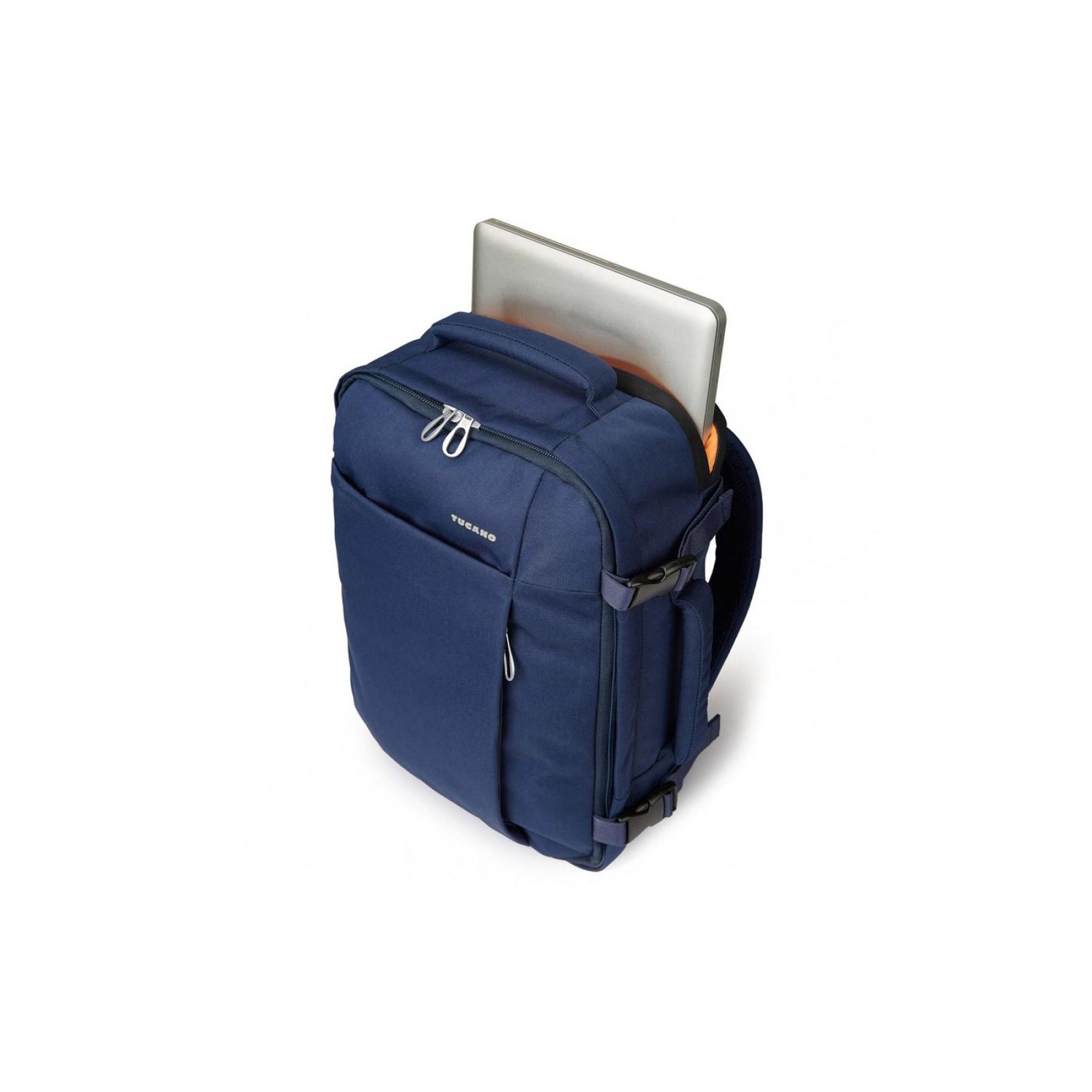 "Рюкзак для ноутбука Tucano 15.6"" TUGO' M CABIN blue (BKTUG-M-B) изображение 4"