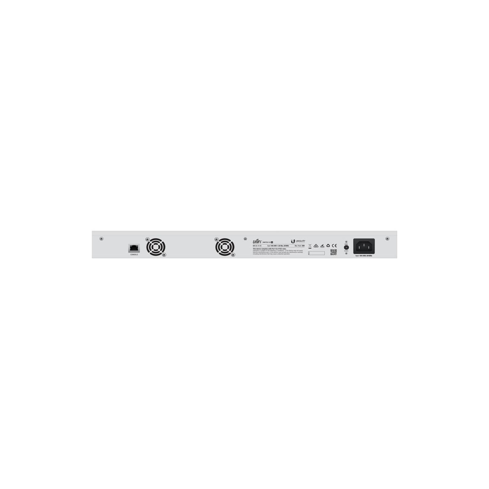 Коммутатор сетевой Ubiquiti US-16-XG изображение 3