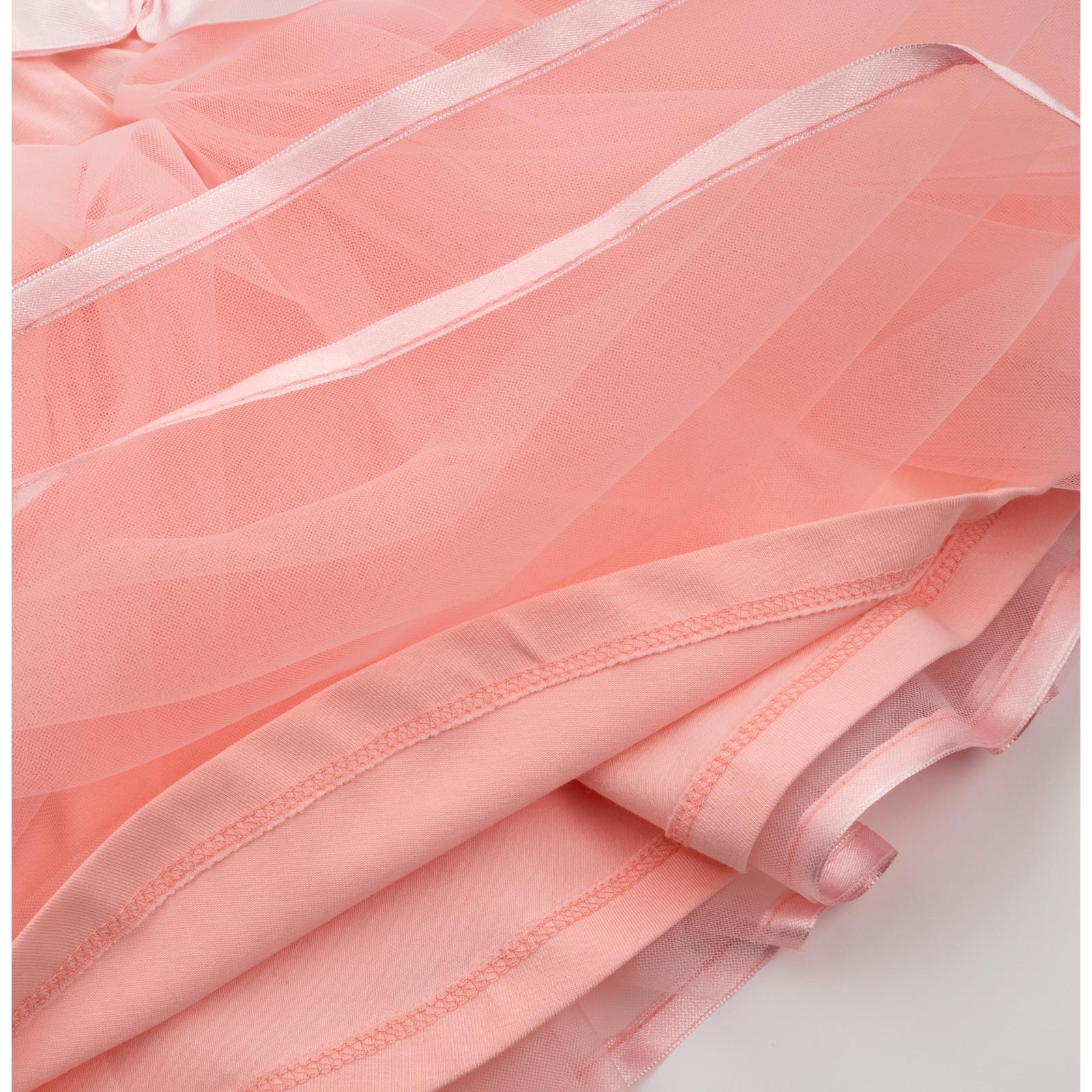 Юбка Breeze фатиновая многослойная (7362-128G-peach) изображение 4