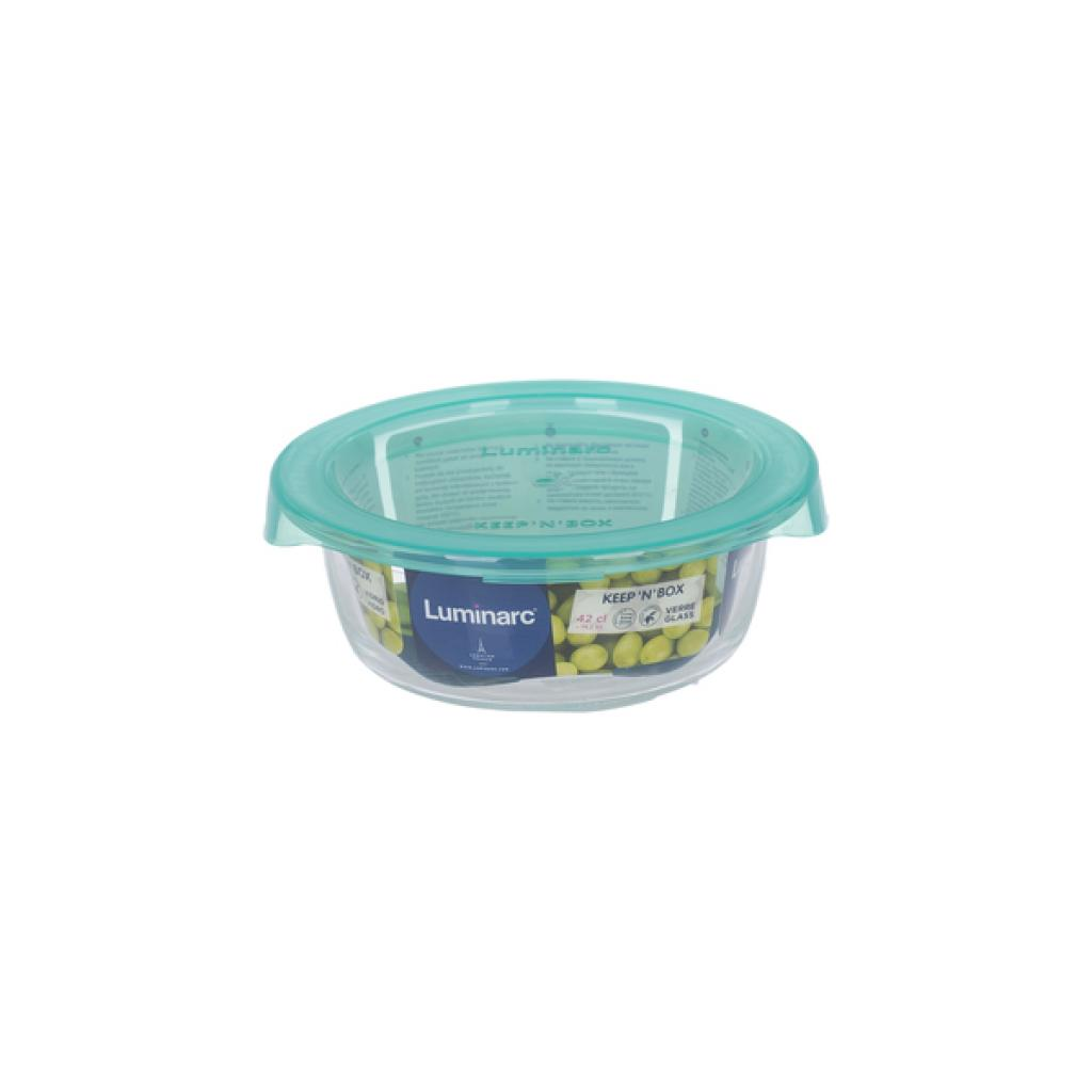 Пищевой контейнер Luminarc Keep'n Box Lagoon кругл. 420 мл (P5525) изображение 3