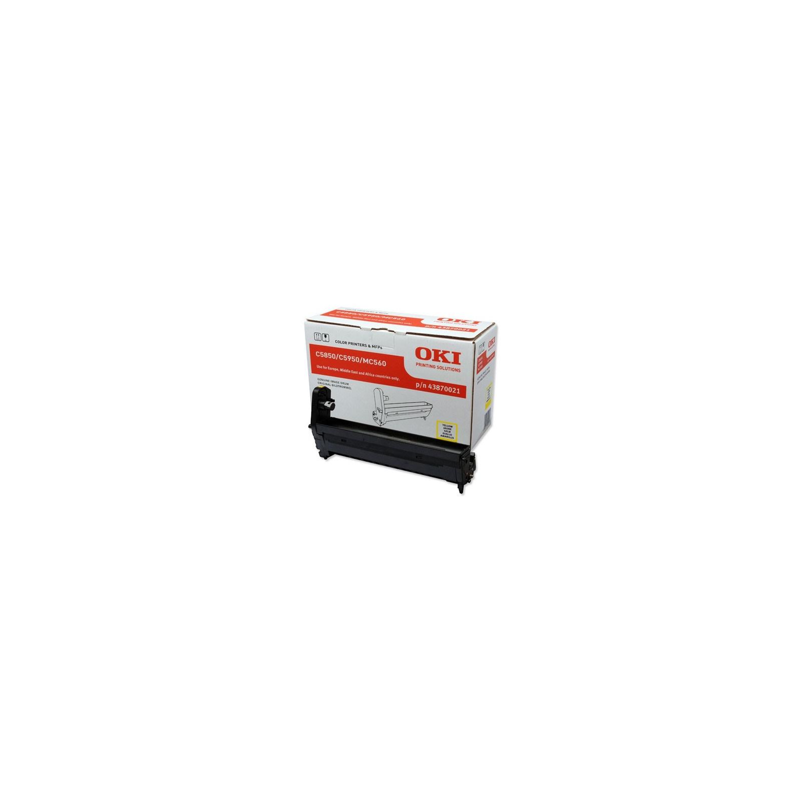 Фотокондуктор OKI C5850/5950 Yellow (43870021)