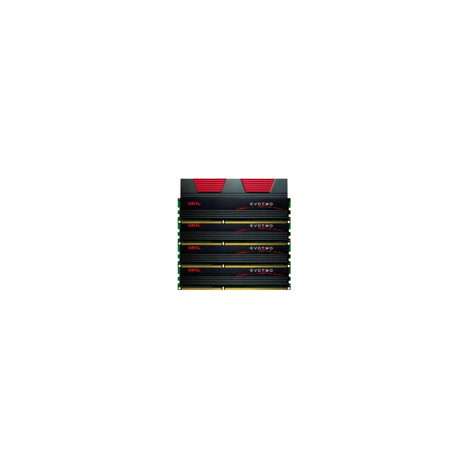 Модуль памяти для компьютера DDR3 16GB (4x4GB) 1866 MHz GEIL (GET316GB1866C10QC)