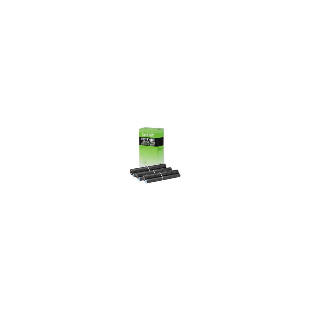 Термопленка Brother для FAX T7X/T8X/T104/T106/630 (4шт) (PC74RF)