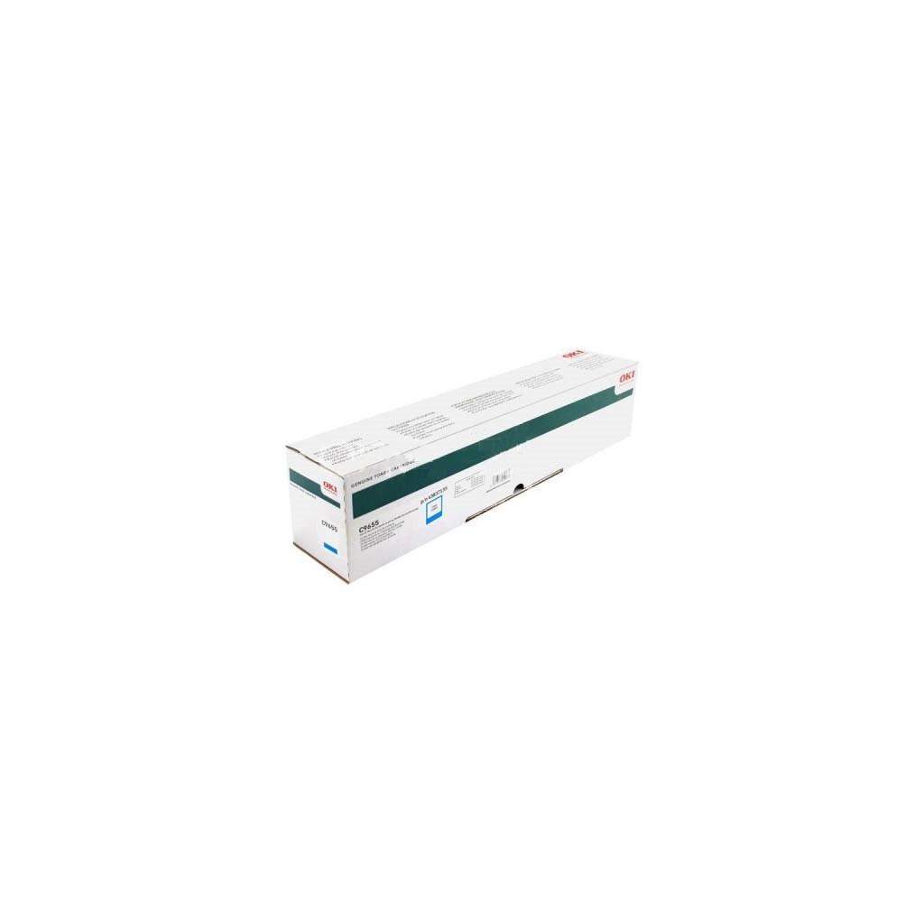 Тонер-картридж OKI C9655 Cyan (43837135)