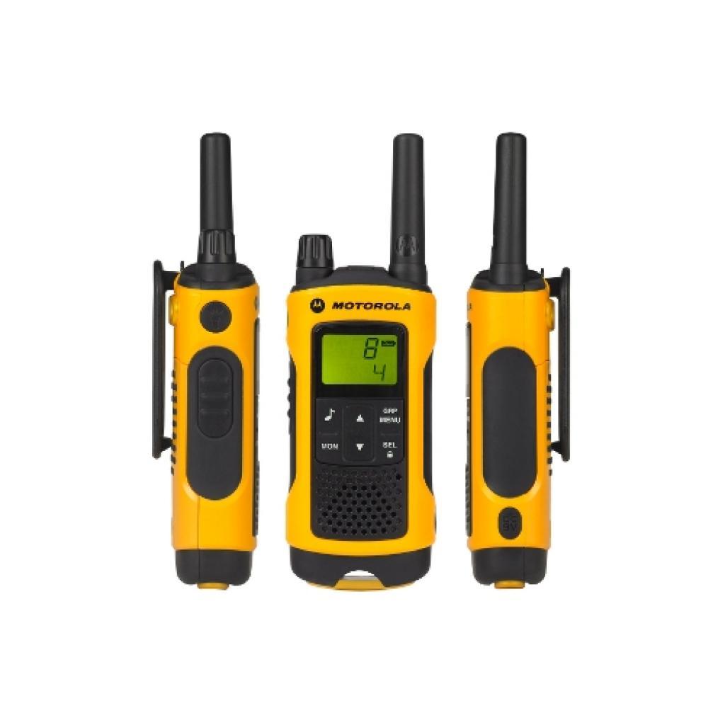 Портативная рация Motorola TLKR T80 Extreme Yellow изображение 2