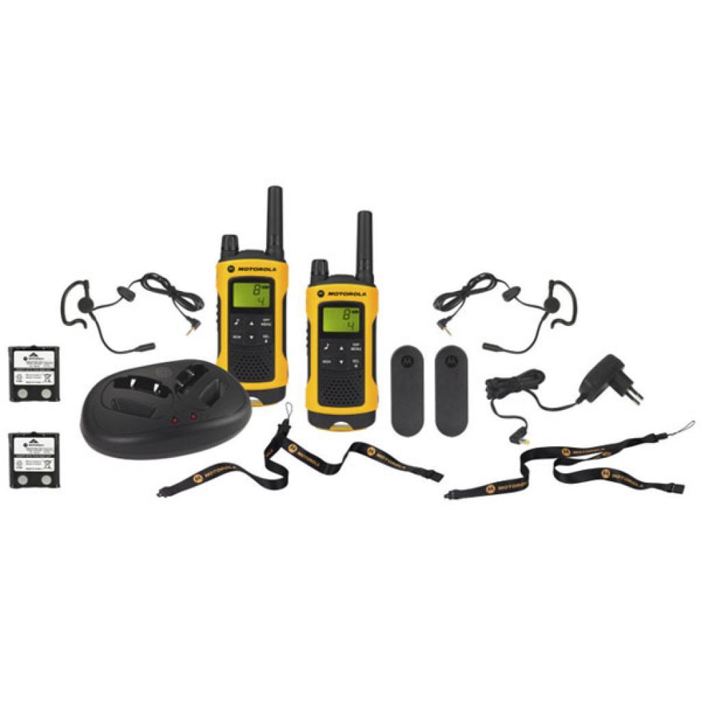 Портативная рация Motorola TLKR T80 Extreme Yellow изображение 5