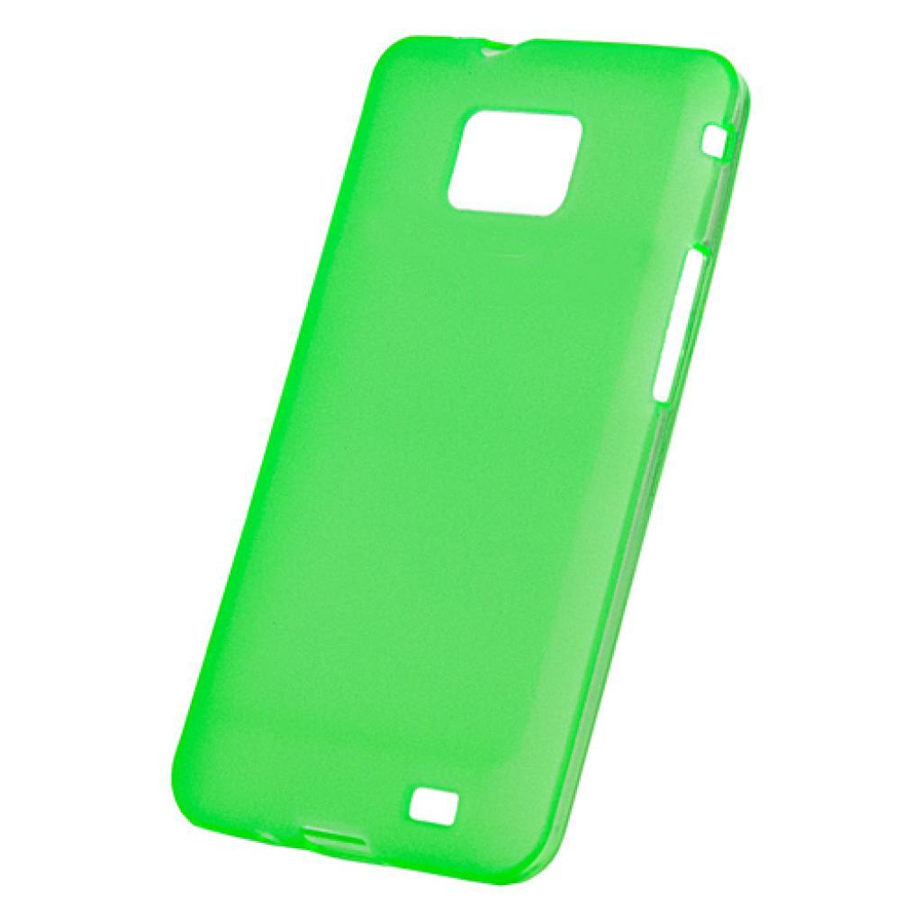 Чехол для моб. телефона Mobiking iPhone 4G/4S Green/Silicon (25265)