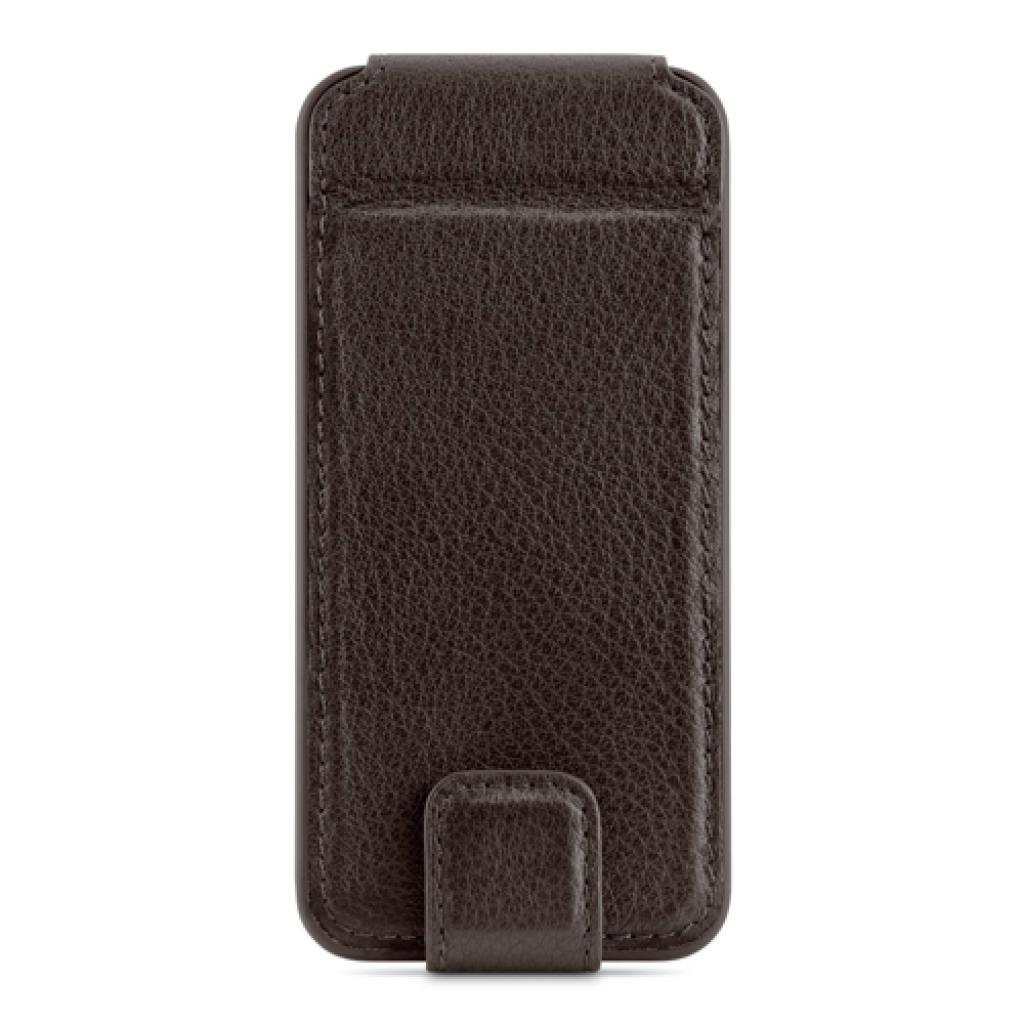 Чехол для моб. телефона Belkin iPhone 5/5s Leather Snap Folio/BROWN (F8W235vfC00) изображение 2