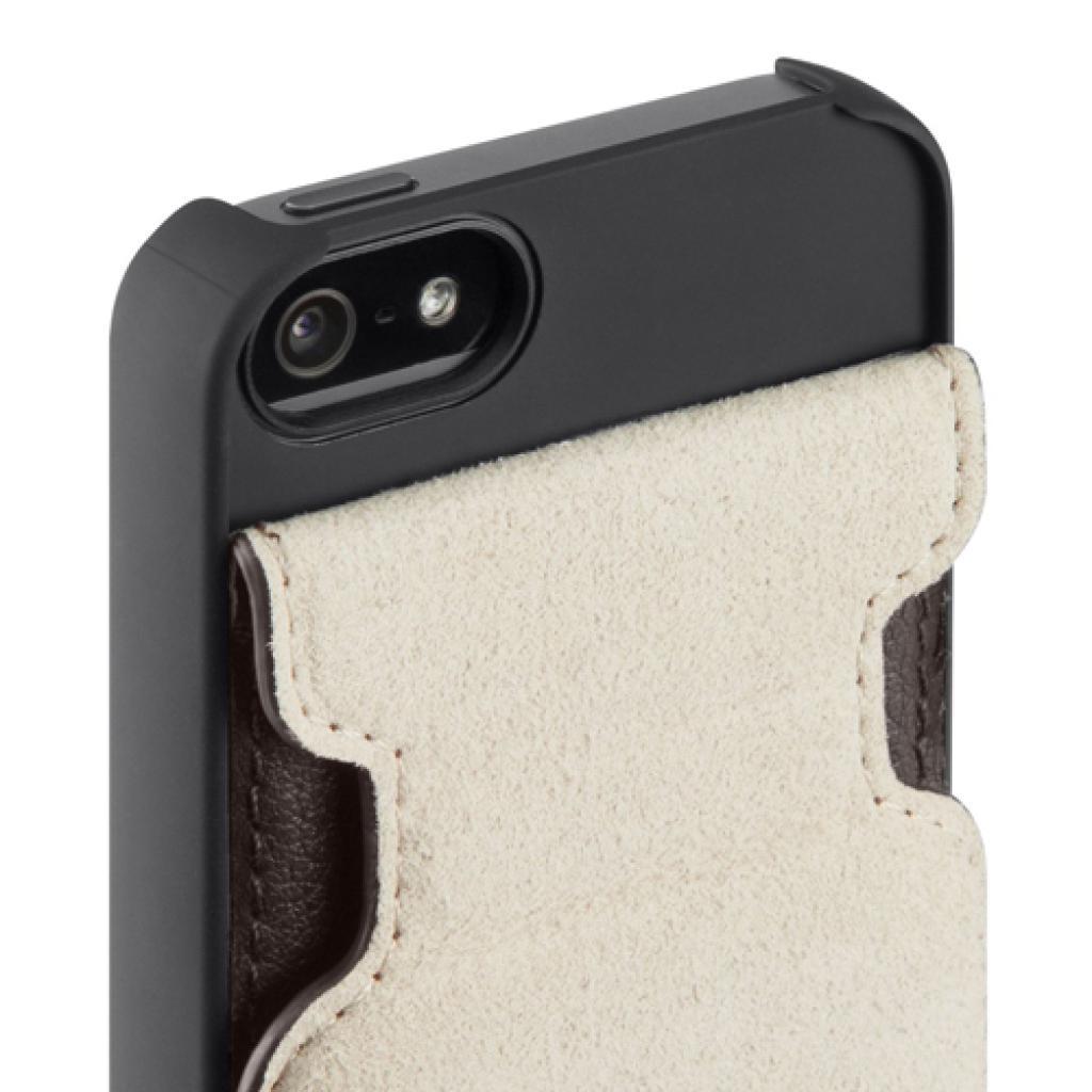 Чехол для моб. телефона Belkin iPhone 5/5s Leather Snap Folio/BROWN (F8W235vfC00) изображение 3
