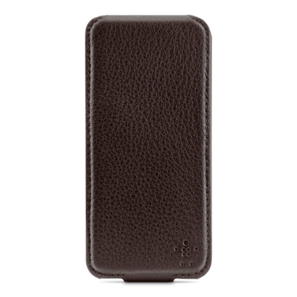Чехол для моб. телефона Belkin iPhone 5/5s Leather Snap Folio/BROWN (F8W235vfC00)