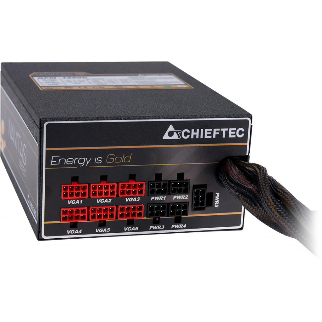 Блок питания CHIEFTEC 1250W Navitas (GPM-1250C) изображение 9