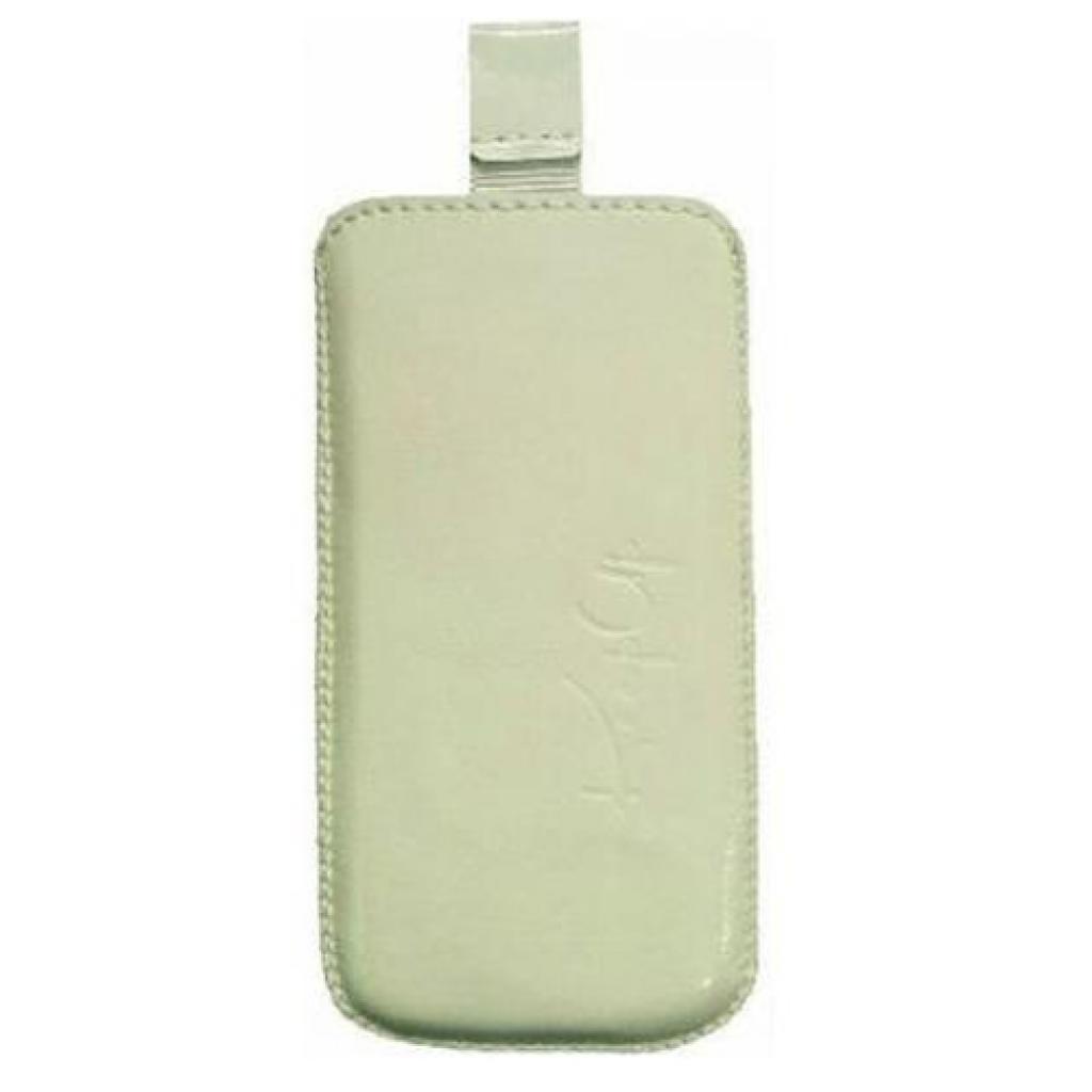 Чехол для моб. телефона KeepUp для Nokia C3 Touch & Type White/pouch (0000004274)
