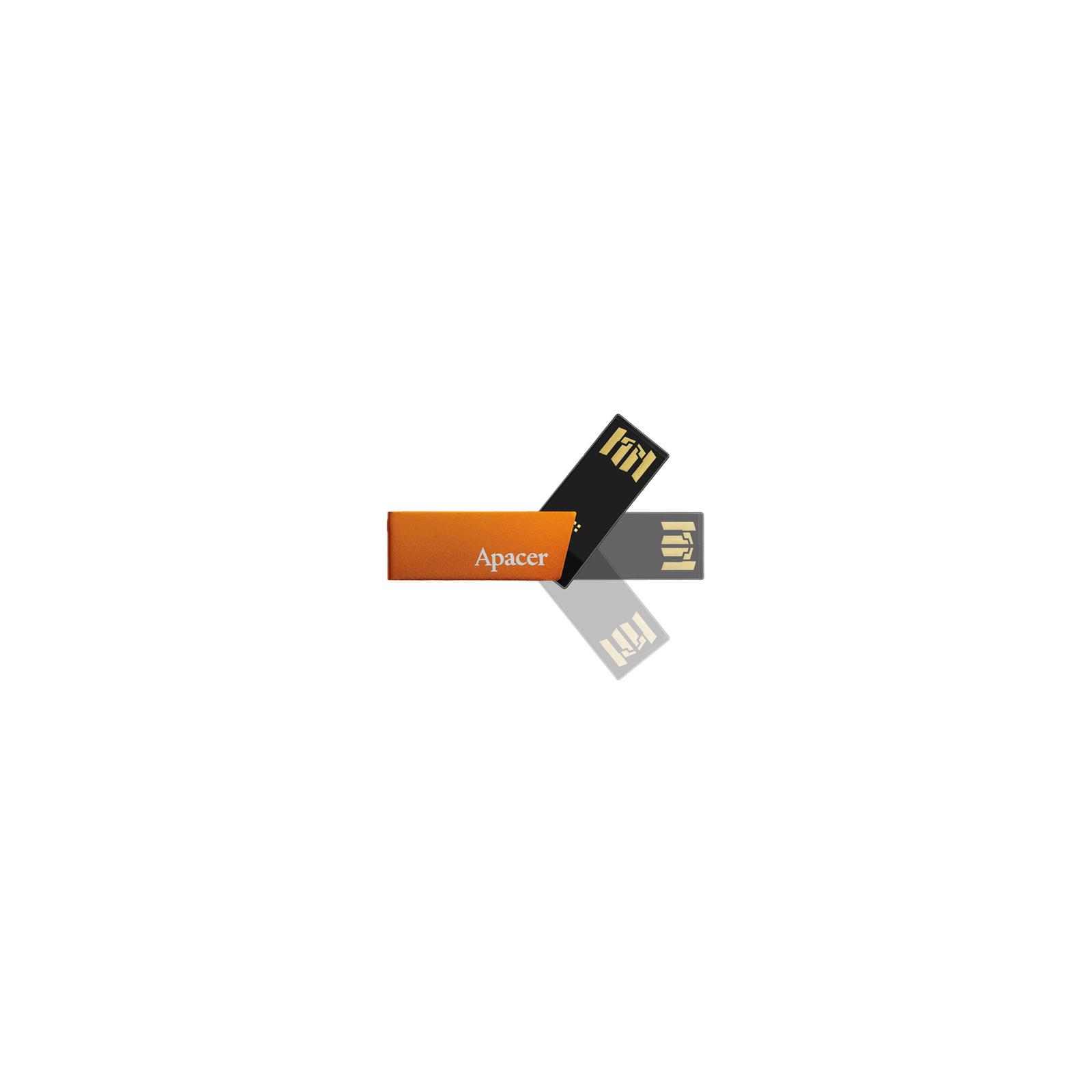 USB флеш накопитель 16GB AH130 Orange RP USB2.0 Apacer (AP16GAH130T-1) изображение 3