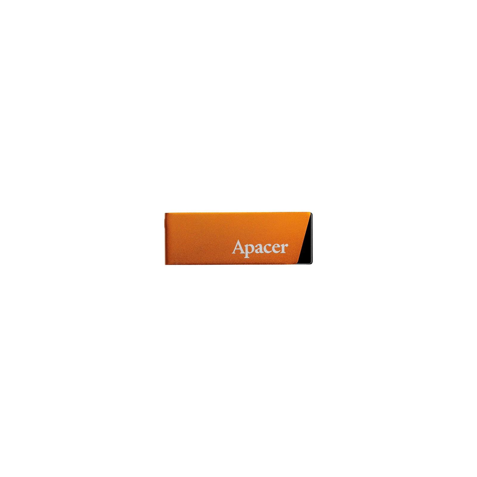 USB флеш накопитель 16GB AH130 Orange RP USB2.0 Apacer (AP16GAH130T-1)